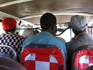 Kenyan minibus