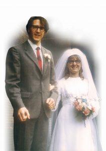 Alan and Maureen's wedding day