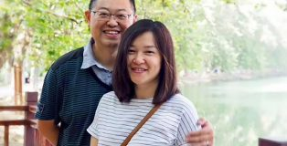 Pastor Wang Yi and wife Jiang Rong