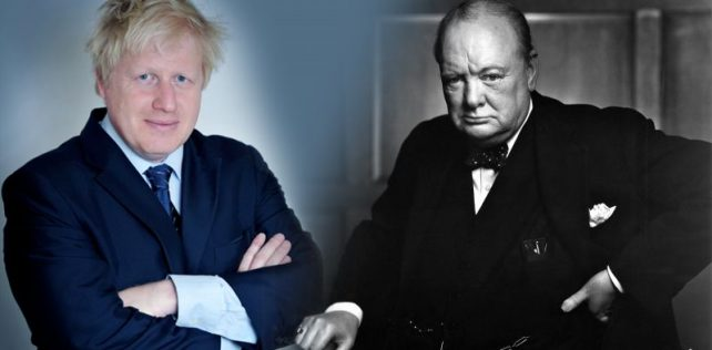 Will God use Johnson as he used Churchill?
