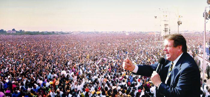 The man who led 79 million to faith