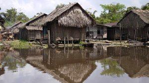 A small riverine community in the Niger Delta