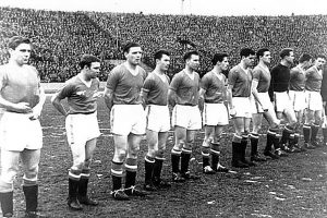 Manchester United's last match prior to the 1958 Munich air disaster