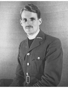 David as an RAF chaplain