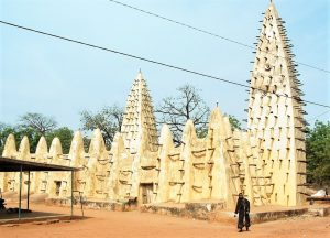 Grand Mosque in Bobo-Dioulasso, Burkina Faso