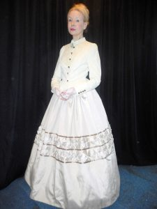 Marianne as 'Kate', the wife of Charles Dickens