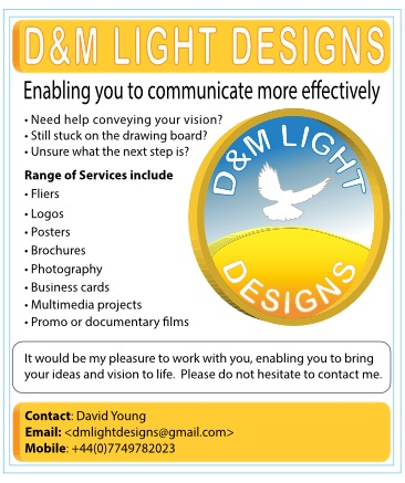 D&M Light Designs Advert