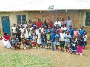 Children at the Living Word orphanage in Seme, Kenya