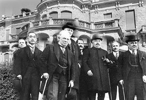 San Remo conference, Italy, in 1920