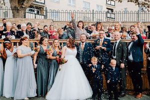 Gareth and Beth got married in October 2018