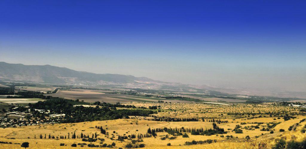 Israel, seen here alongside the border with Lebanon