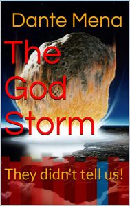 Book cover 'The God Storm'