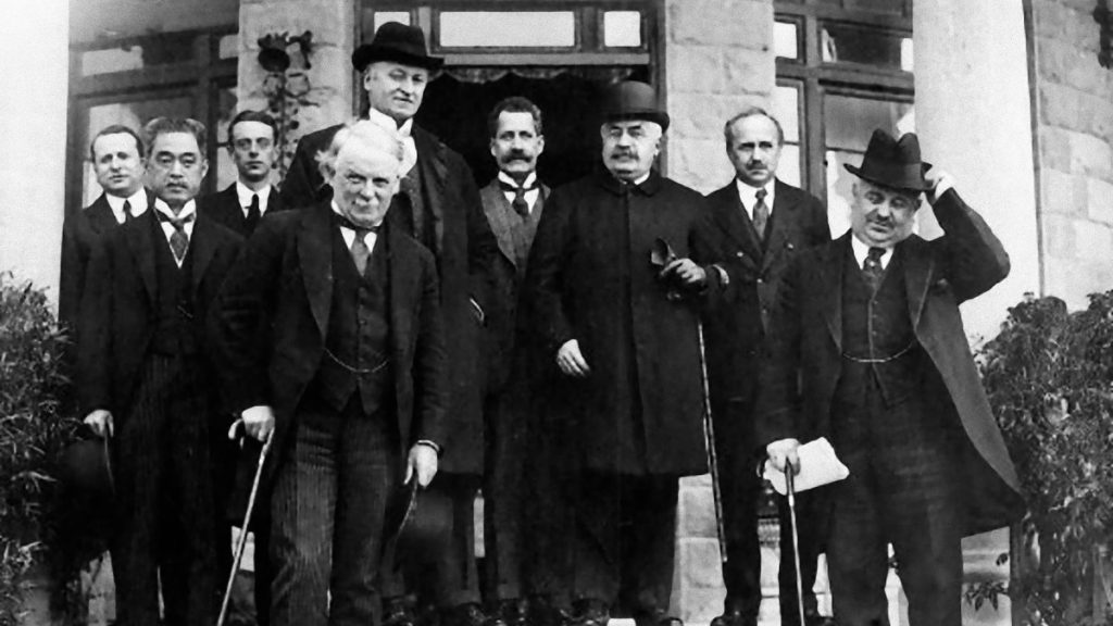 The San Remo conference of 1920