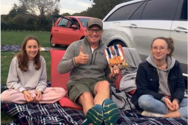 Drive-in films bring fun to local families