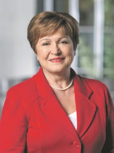 Kristalina Georgieva, MD of the IMF