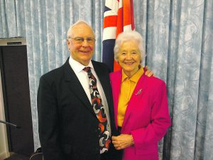 Les and Joan Potter lead the Upper Room Christian Fellowship