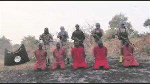 A video showing the execution of believers in Nigeria