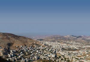 The mountains of Samaria