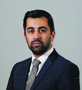 Justice Secretary Humza Yousaf