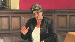 C of E General Synod member Jayne Ozanne