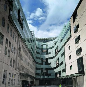 The BBC's Broadcasting House, London