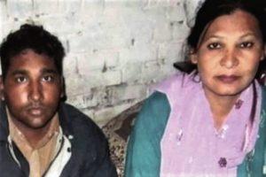 Christians Shafqat Emmanuel, and wife Shagufta Kauser