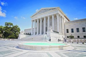 The US Supreme Court building