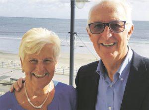 Gordon Pettie and his wife Lorna